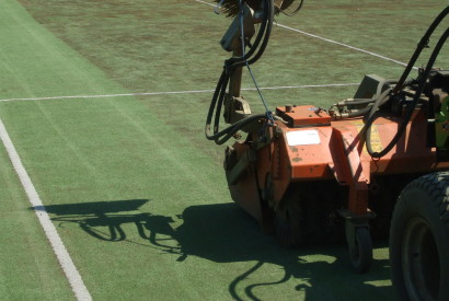 Our specialist knowledge and equipment return your synthetic tennis court to top condition