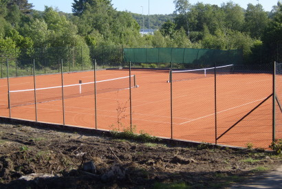 New Euroclay court construction